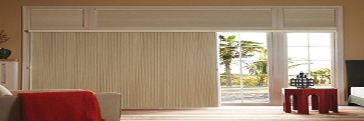 Blackout Vertical Cellular Shades