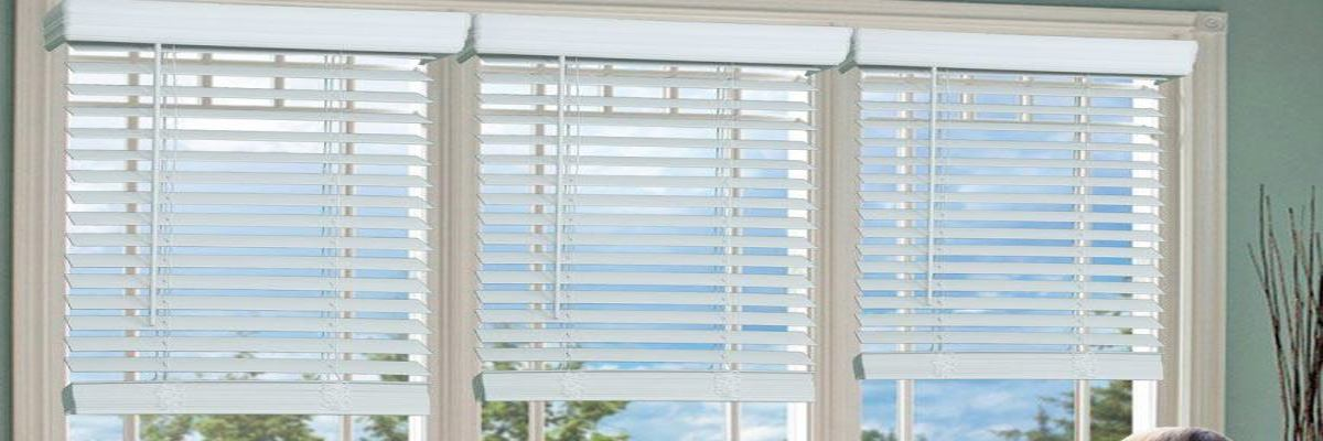 Cordless Faux Wood Blinds