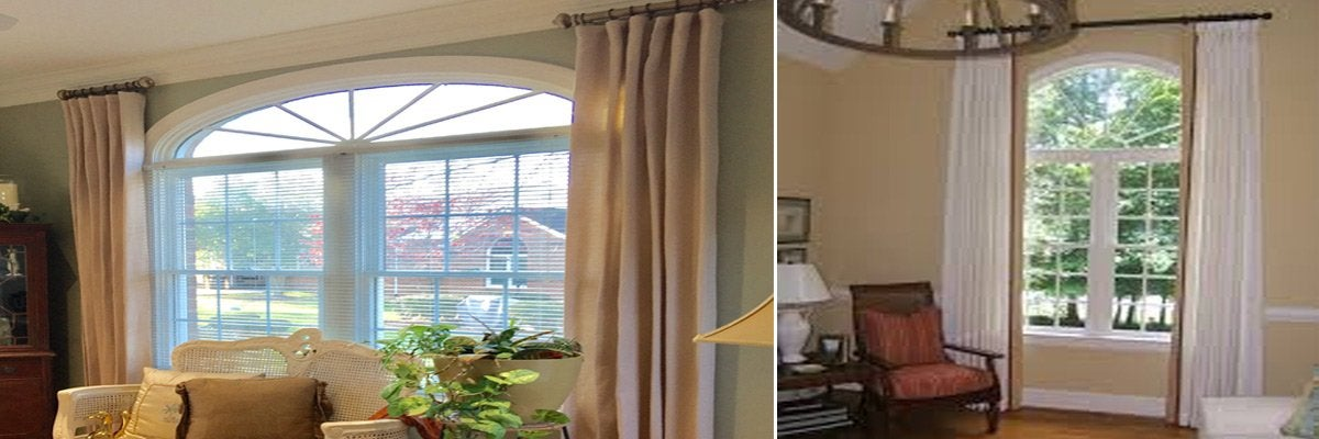 Curtains for Palladian Windows