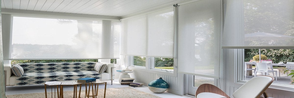 Roller Shades for Sunroom