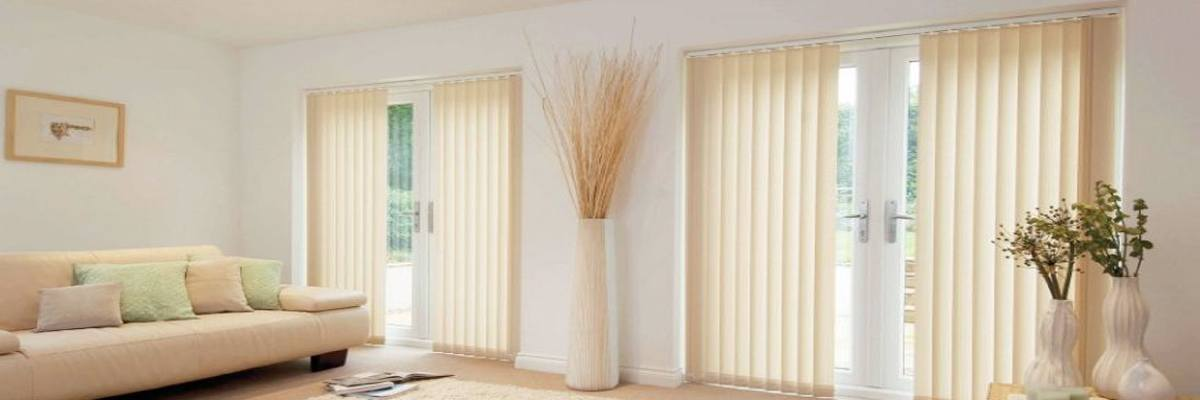 Vertical Blinds for French Door