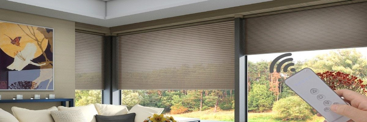 Electric Cellular Shades