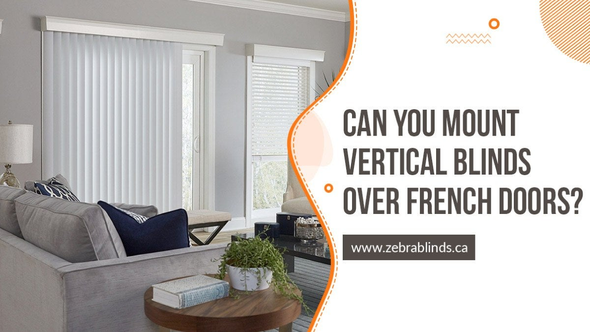 Vertical Blinds Over French Doors