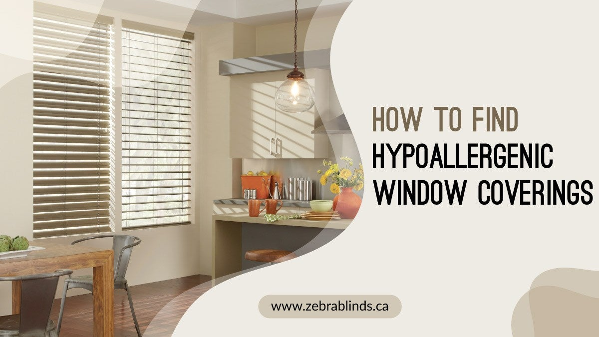 How To Find Hypoallergenic Window Coverings