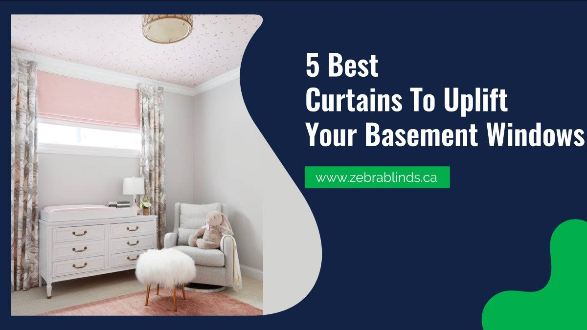 Image of: 5 Best Curtains To Uplift Your Basement Windows