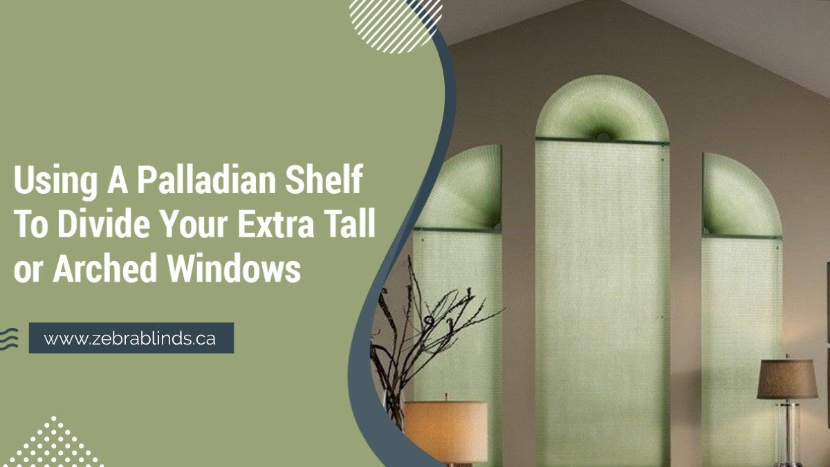 Palladian Shelf To Divide Your Extra Tall or Arched Windows