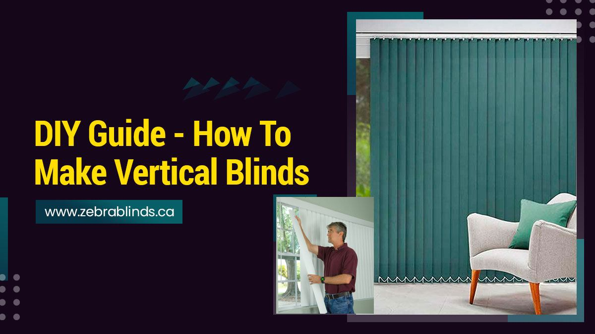 How To Make Vertical Blinds Diy Guide