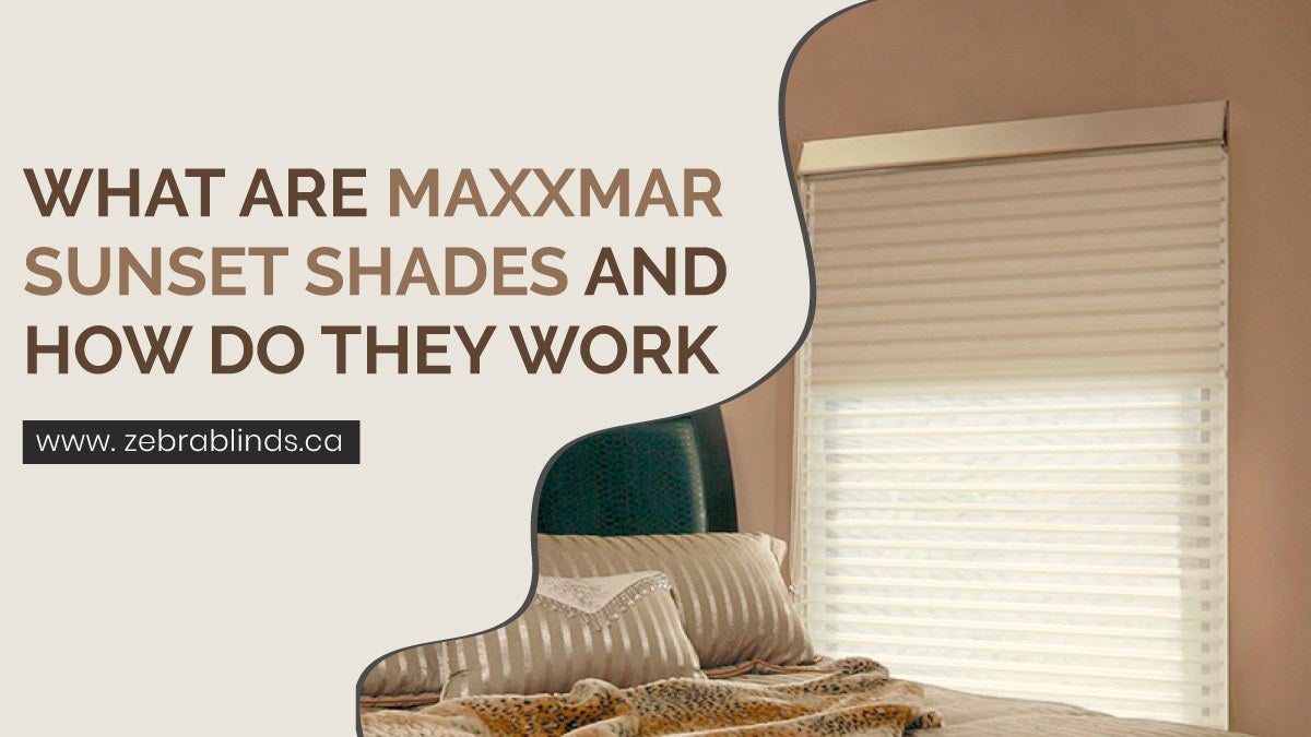 What Are Maxxmar Sunset Shades