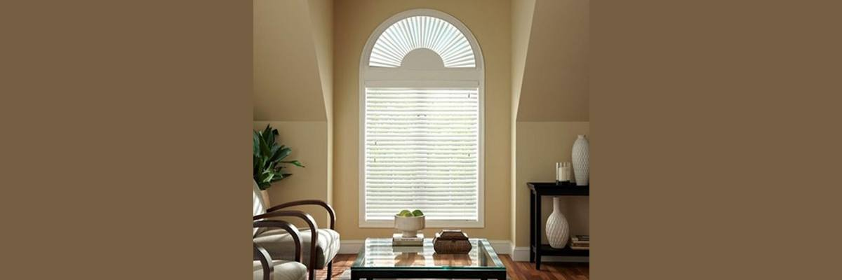 Custom Arched Window Blinds