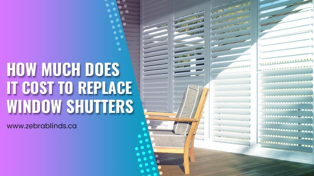 How Much Does It Cost To Replace Window Shutters