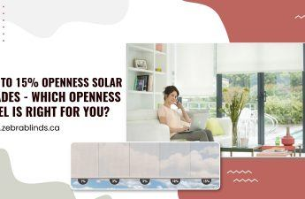 1 to 15 Openness Solar Shades