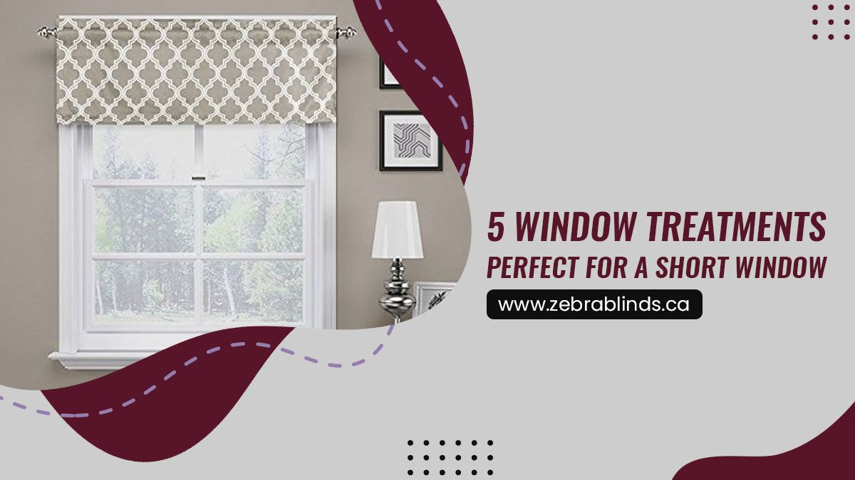 5 Window Treatments Perfect For A Short Window