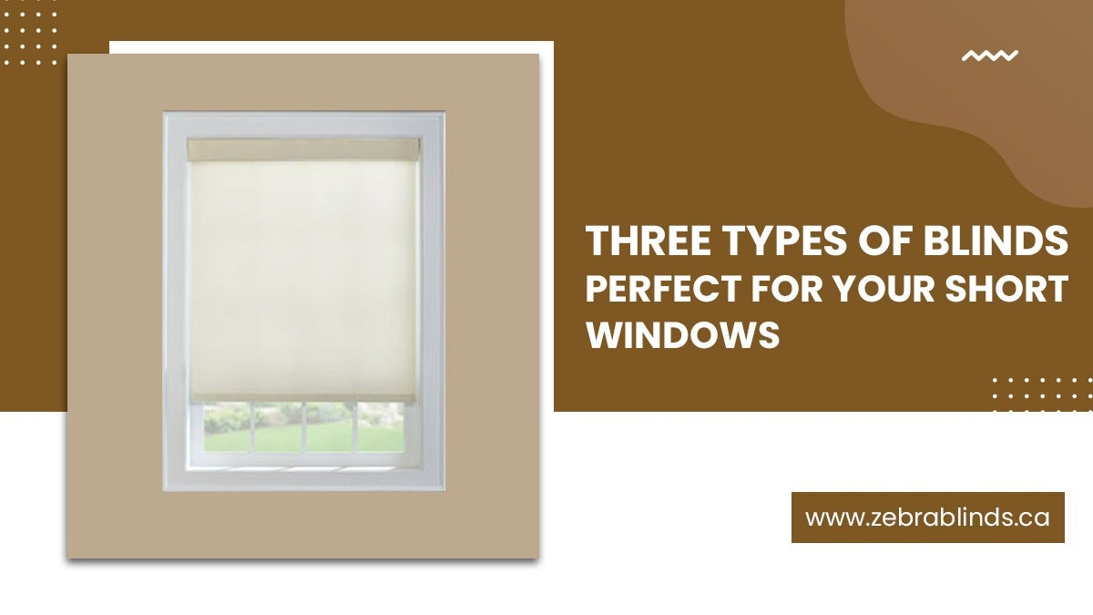 Three Types Of Blinds Perfect For Your Short Windows