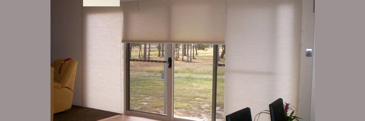 Roller Shades for French Door