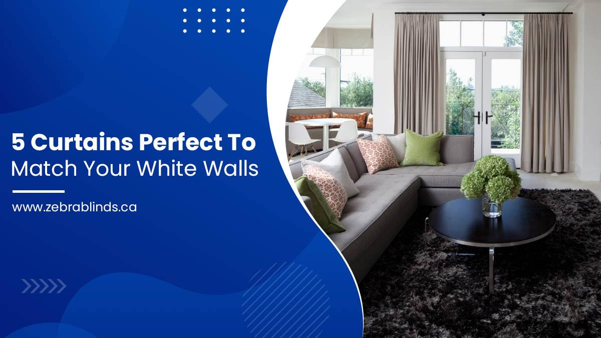 5 Curtains Perfect to Match Your White Walls