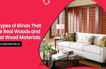 5 Types of Blinds That Use Real Woods and Real Wood Materials