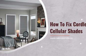 How To Fix Cordless Cellular Shades