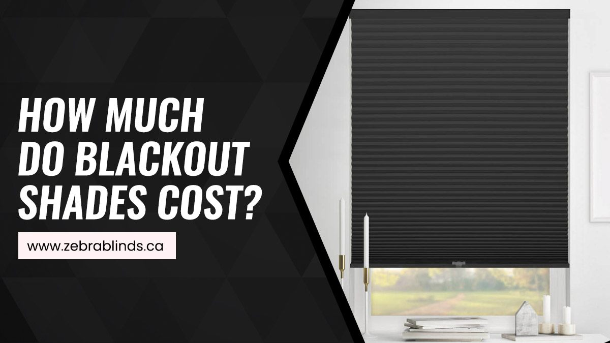 How Much Do Blackout Shades Cost