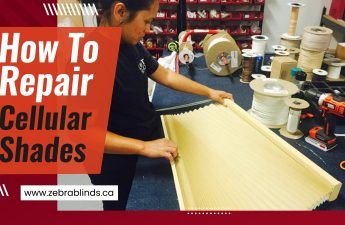 How To Repair Cellular Shades