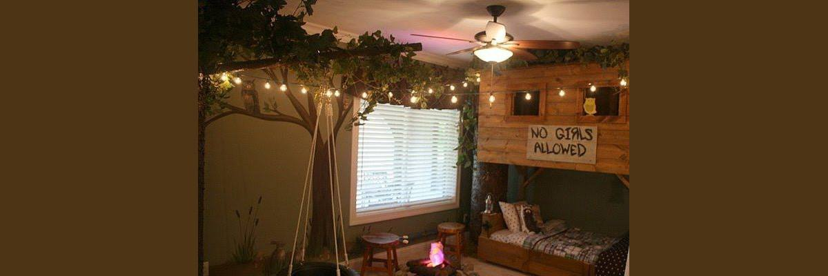 Treehouse Decor Ideas