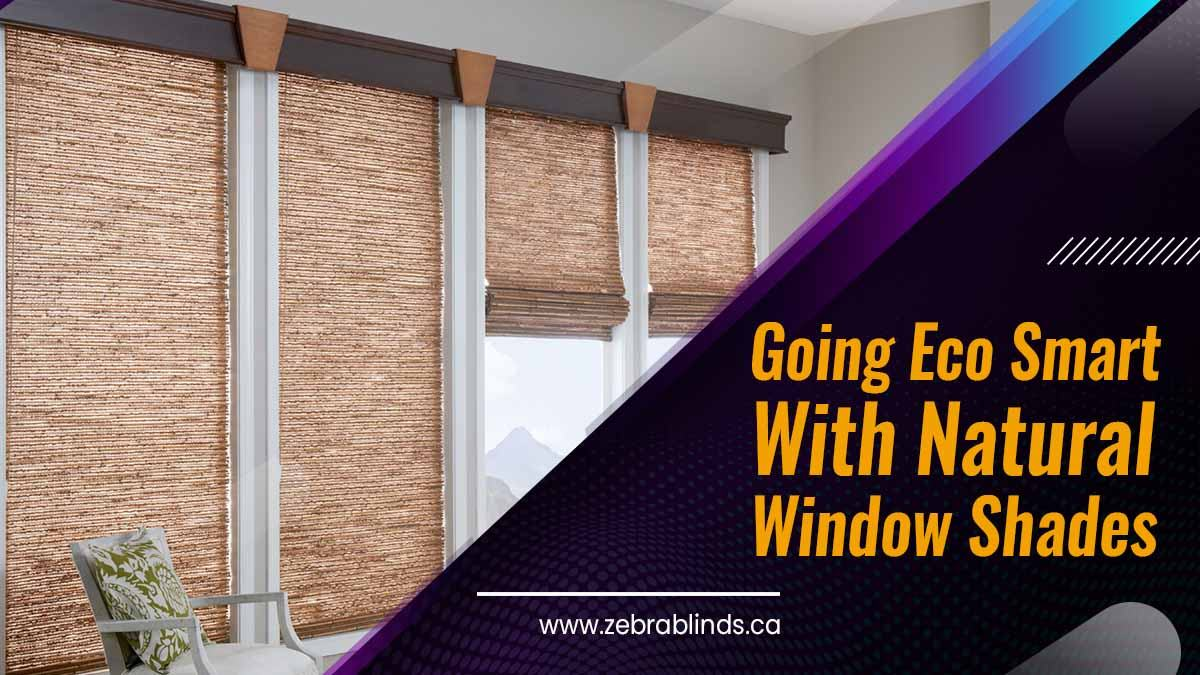 Going Eco Smart With Natural Window Shades