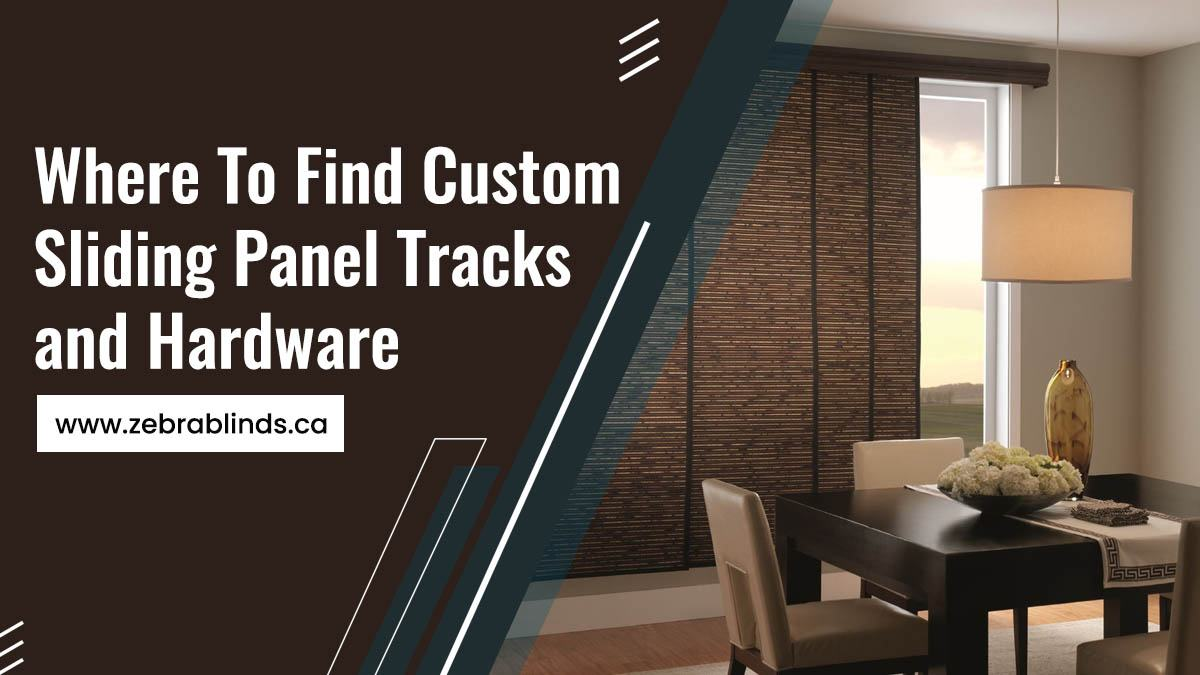 Where To Find Custom Sliding Panel Tracks and Hardware
