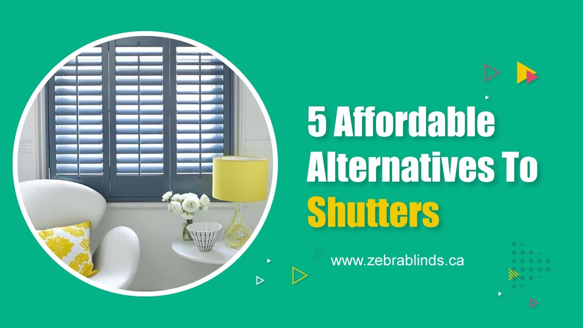 5 Affordable Alternatives to Shutters