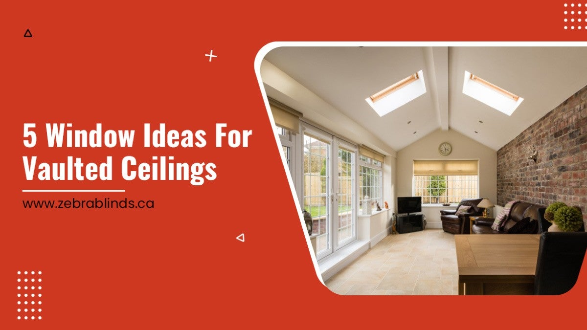 5 Window Treatment Ideas for Vaulted Ceilings