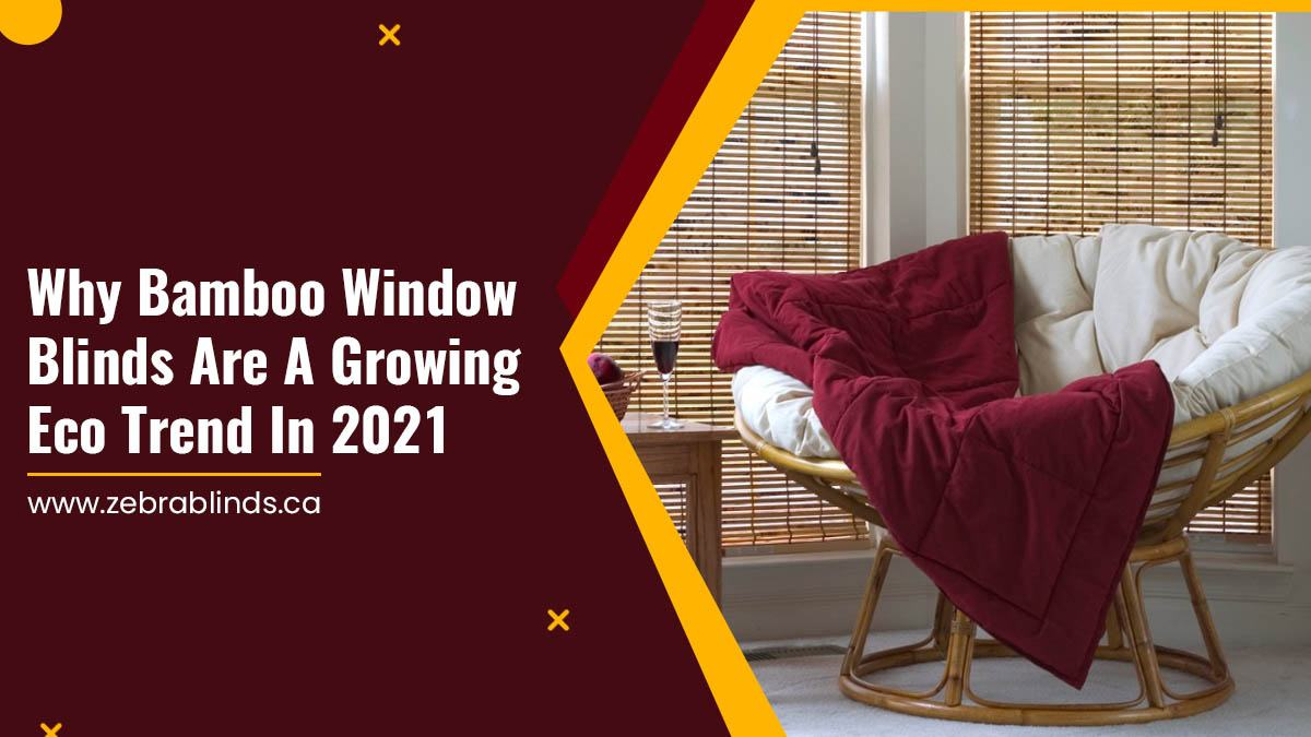 Why Bamboo Window Blinds Are A Growing Eco Trend In 2021