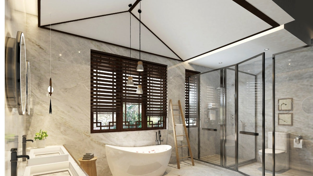 How To Properly Dress A Window In A Wet Room