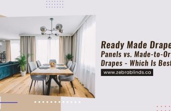 Ready Made Drapery Panels vs. Made-to-Order Drapes - Which Is Best?