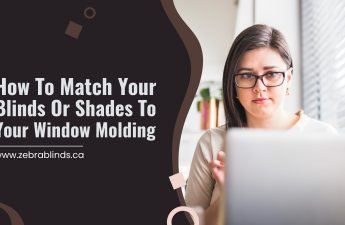 How To Match Your Blinds Or Shades To Your Window Molding