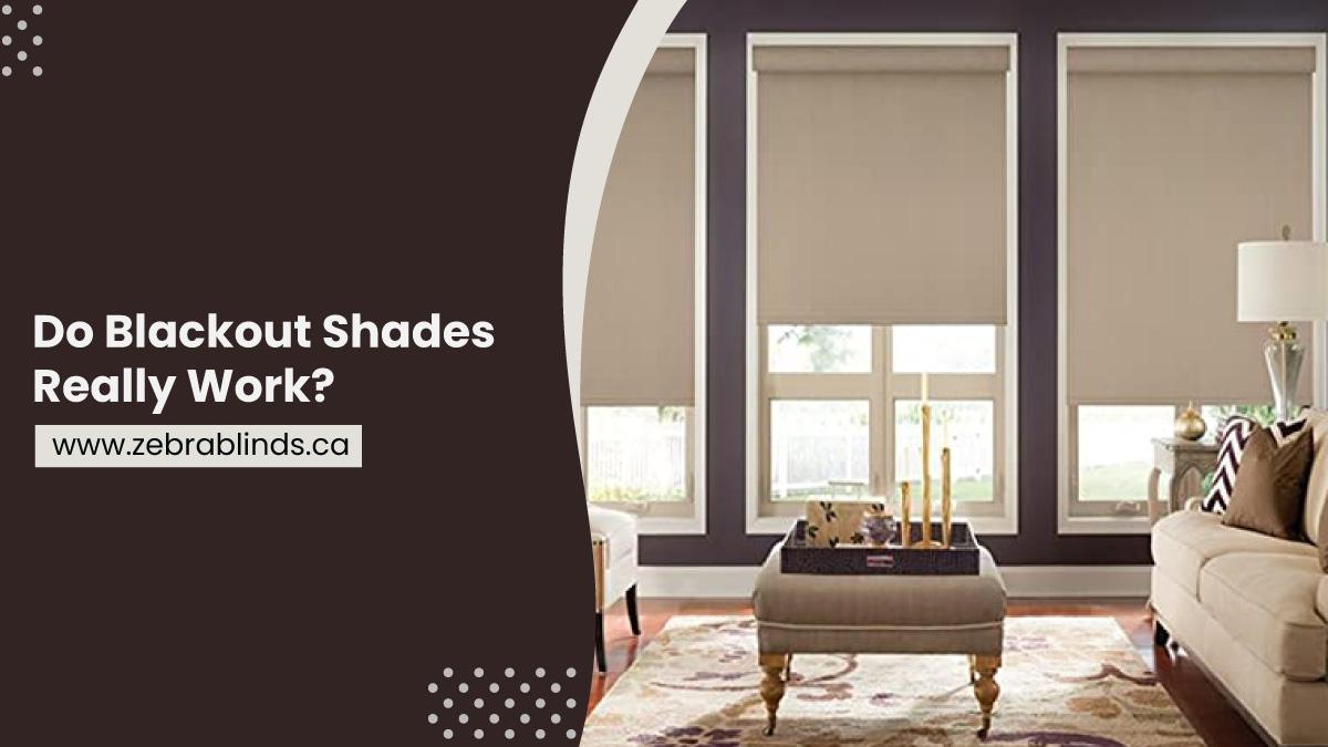 Do Blackout Shades Really Work?