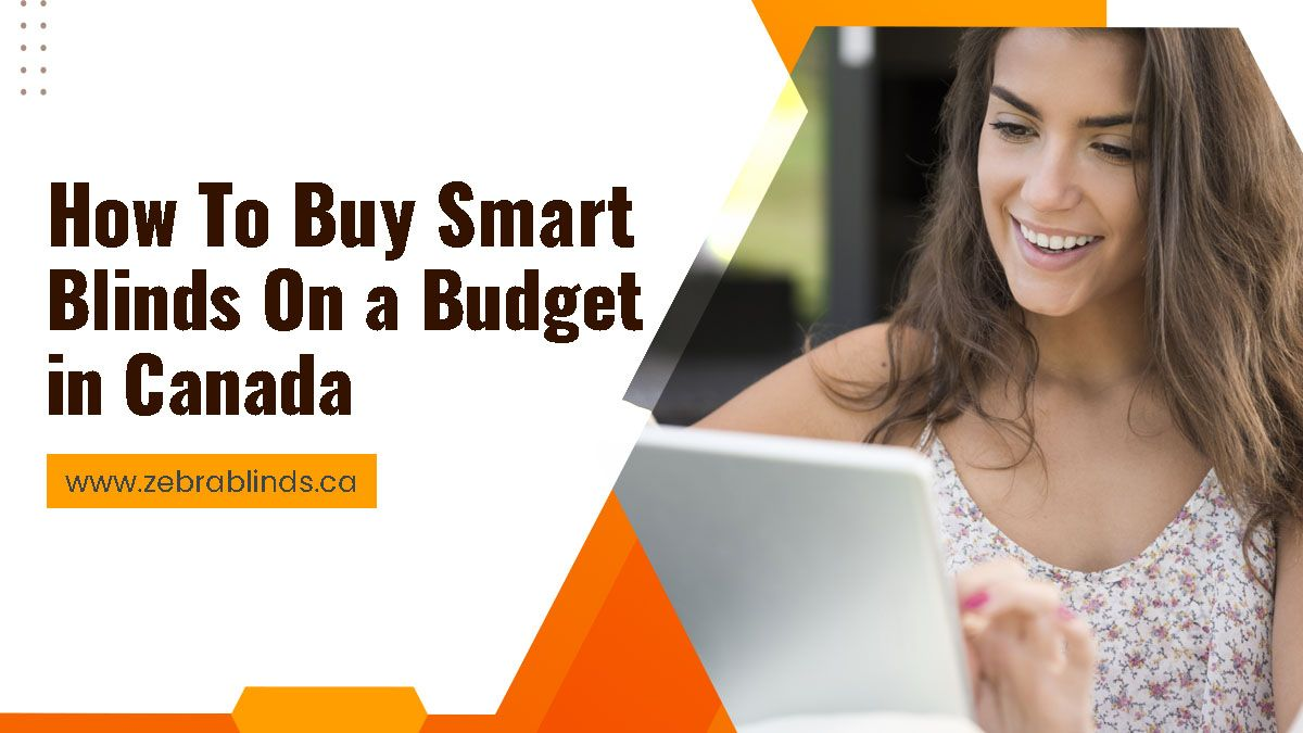 How To Buy Smart Blinds On a Budget in Canada