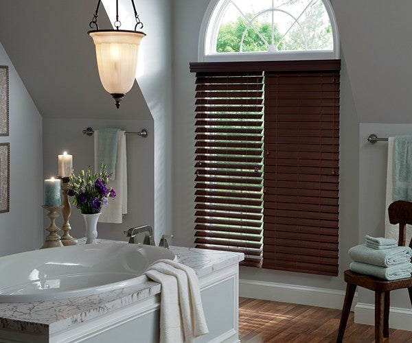2½ Inch Lake Forest Graber Faux Wood Blinds