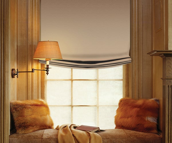 Crown Looped Roman Shades