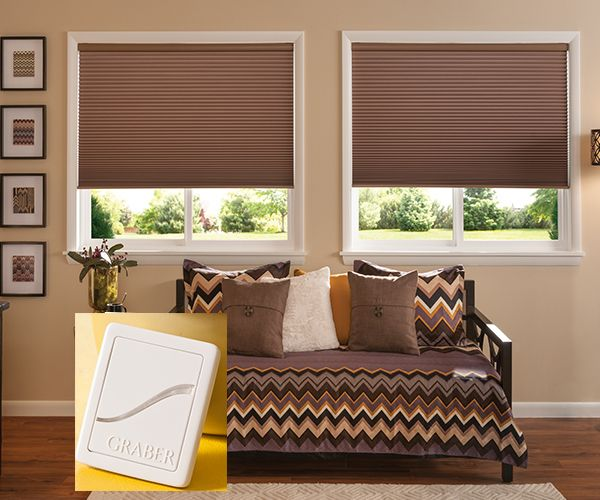 Virtual Cord Z-Wave Double Cellular Shades